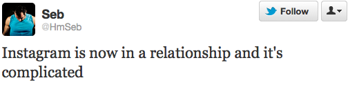 Instagram is now in a relationship. And it's complicated!
