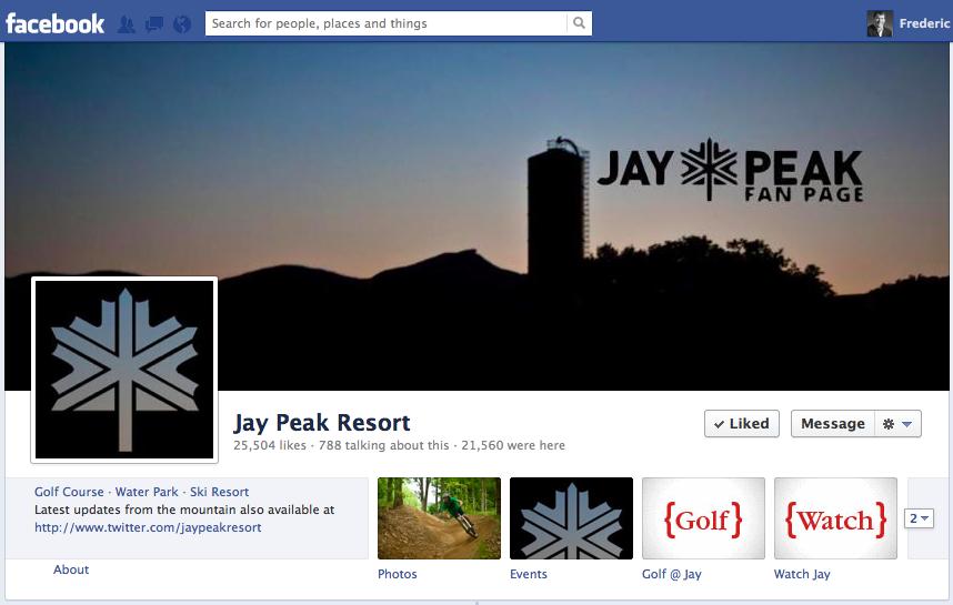 Jay Peak on Facebook