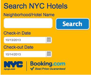 NYC et Booking.com