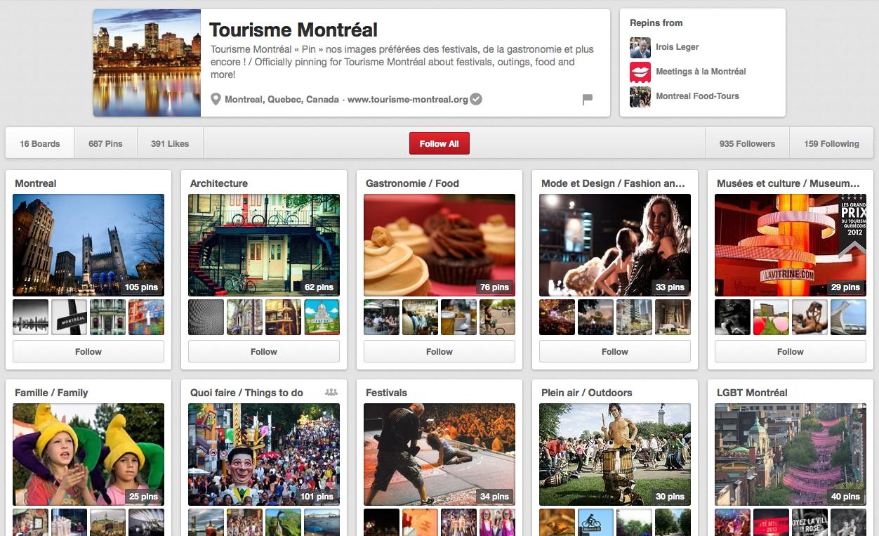 Tourisme Montréal sur Pinterest