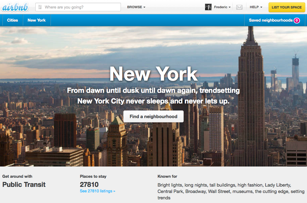 New York City on AirBnB