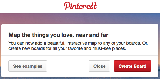 Place Pins now integrated to Pinterest