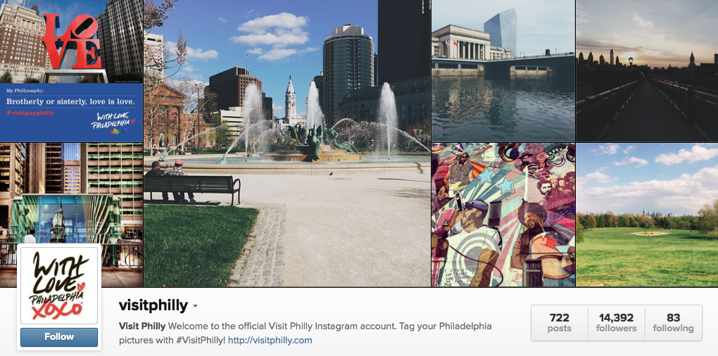 Visit Philly on Instagram