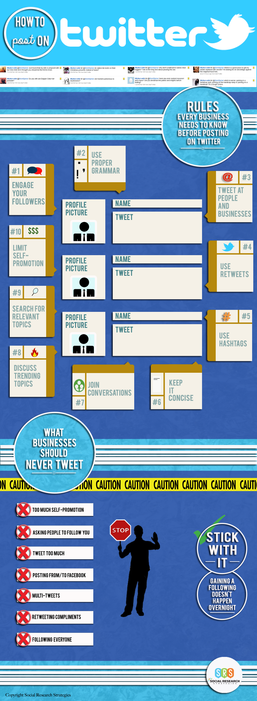 How to post on Twitter (Infographic)