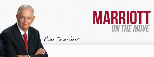 """Bill Marriott's """"On The Move"""""""