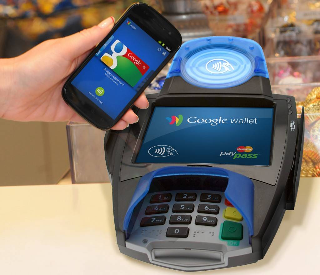 Mobile payment with Google Wallet