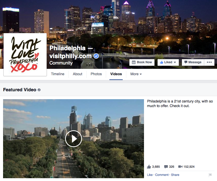 Visit Philly on Facebook