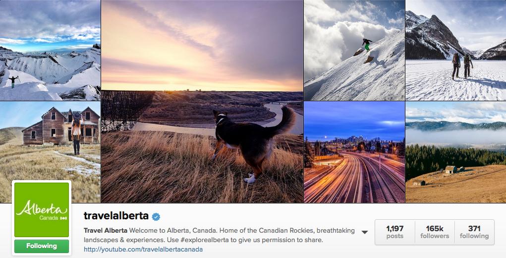 Travel Alberta on Instagram