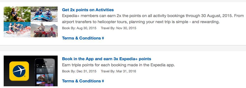 Expedia+ Rewards Program
