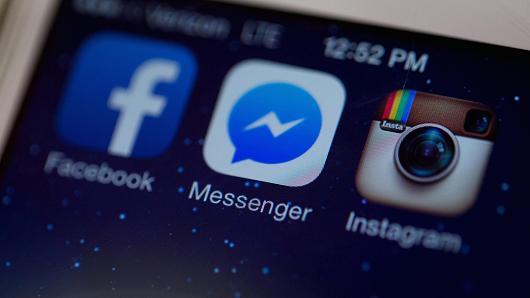 Facebook Messenger application