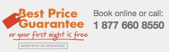 Best Price Guarantee on IHG website