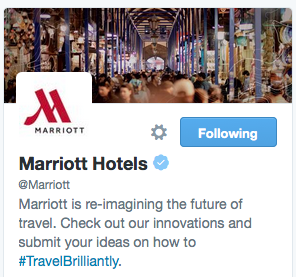 How Marriott focuses on #TravelBrilliantly across digital outposts