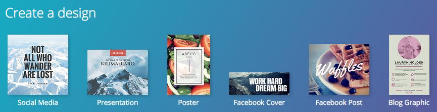 Créez votre design avec Canva