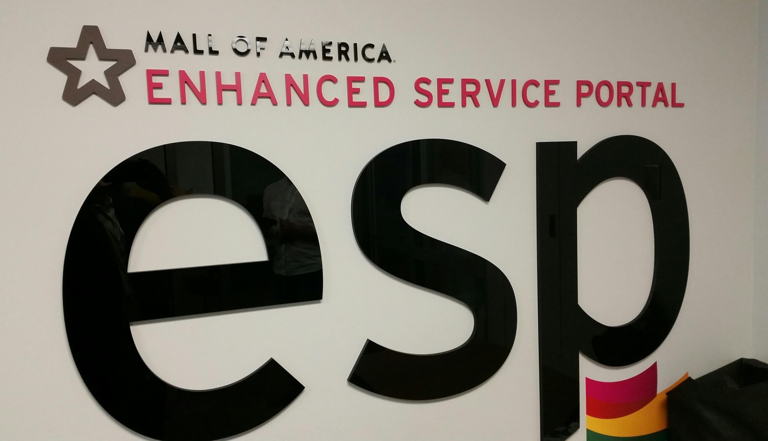Enhanced Service Portal at Mall of America