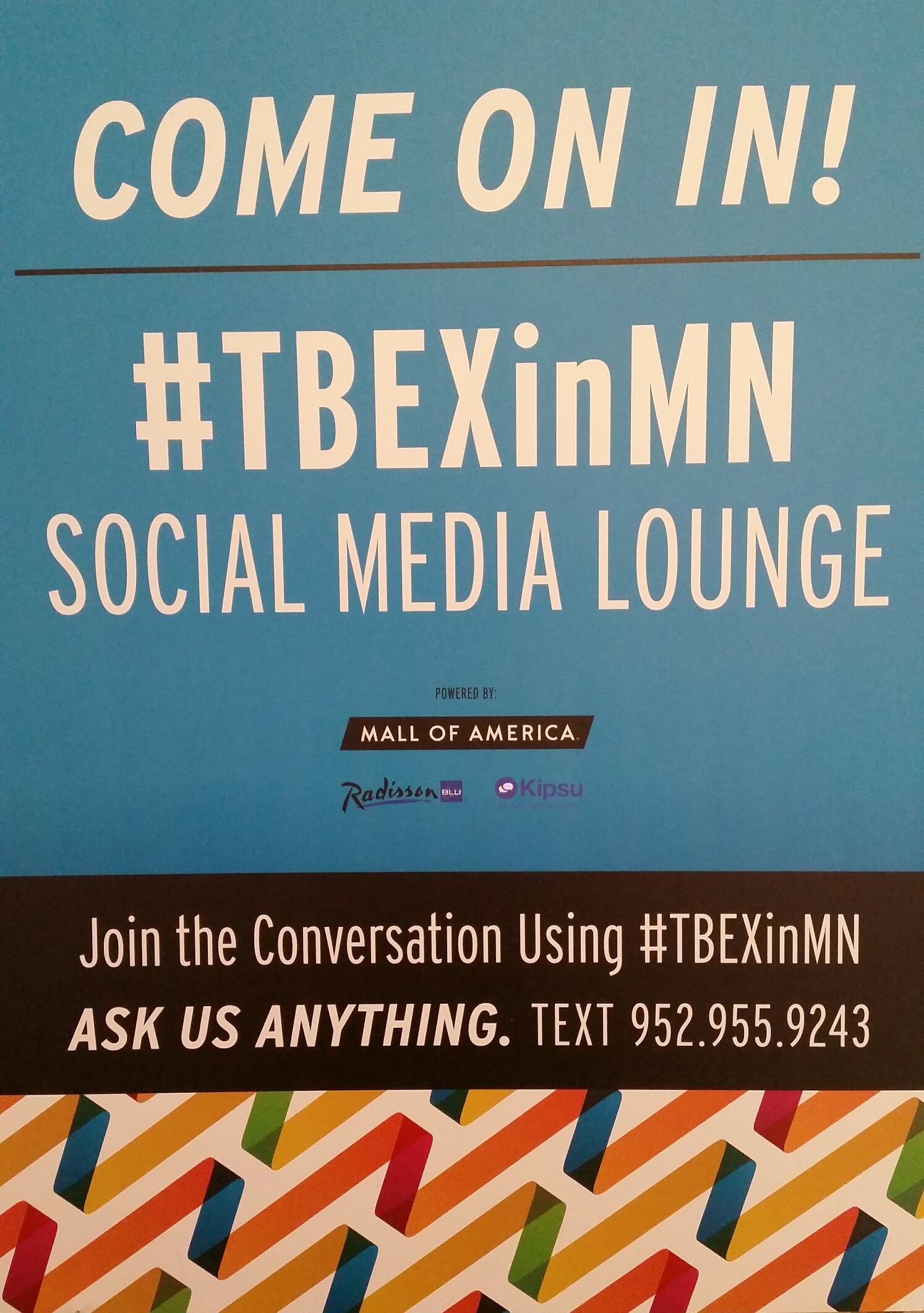 TBEX Social Media Lounge