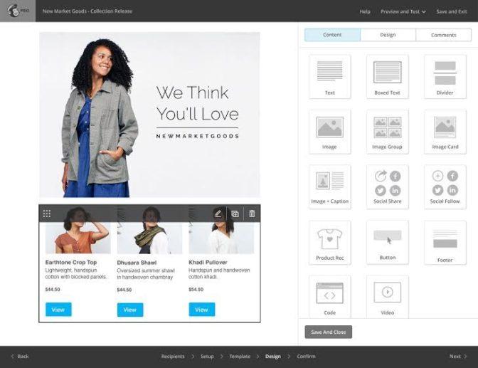 MailChimp Product Recommendation