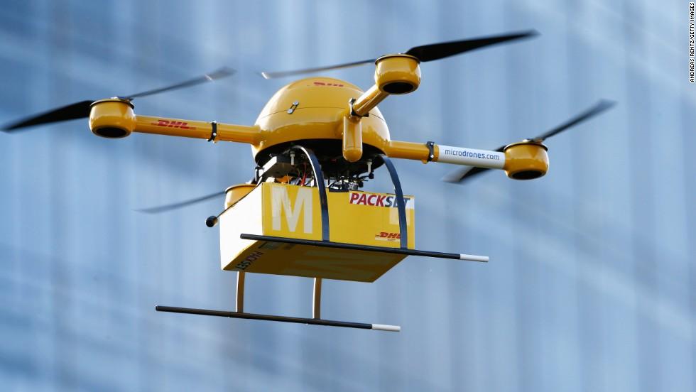 Quand les drones effectuent la livraison...