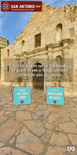 Visit San Antonio 360 Video Ad