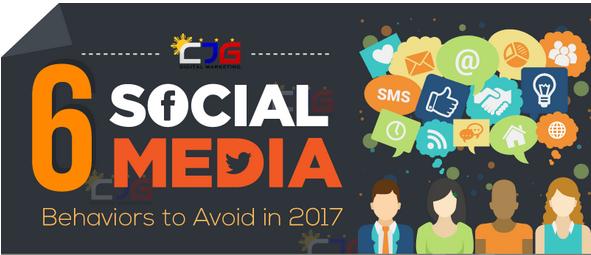 6 erreurs à éviter sur les médias sociaux