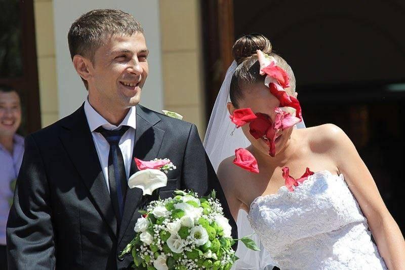 Mauvaises photos de mariage