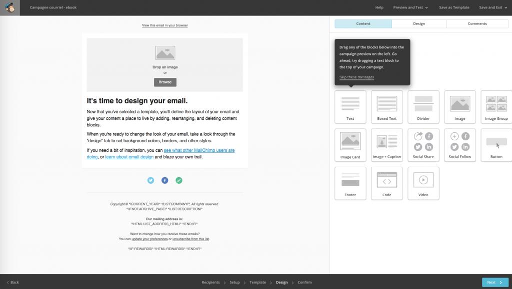 mailchimp-personnaliser-design