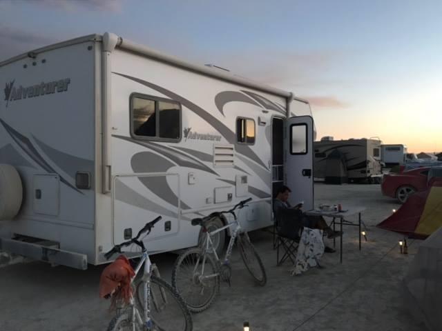 Notre havre de paix pendant la folie de Burning Man...