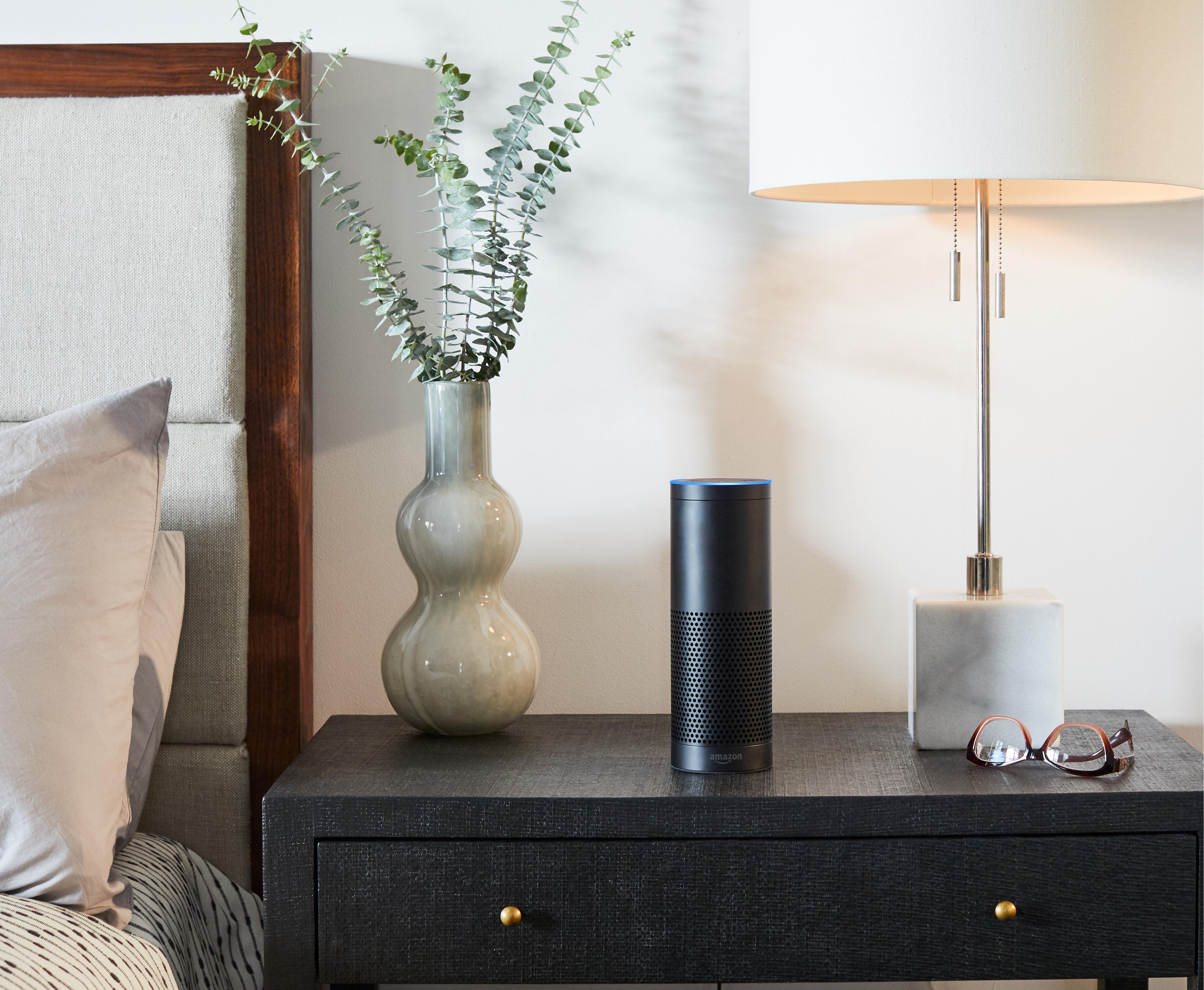L'appareil Echo Plus d'Amazon