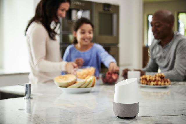 L'assistant vocal Google Home