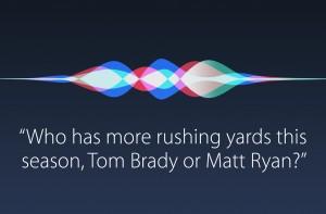 Question posée l'assistant personnel Siri d'Apple