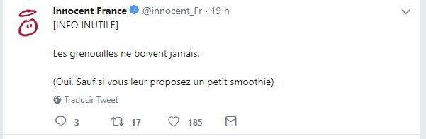 Exemple de conversation originale sur Twitter