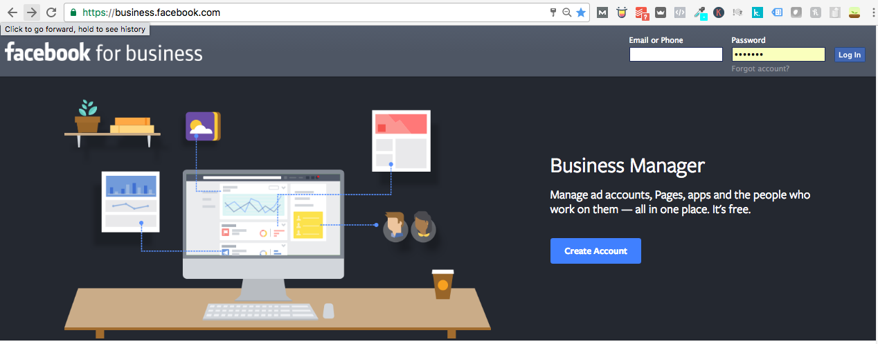 Create Your Facebook Business Manager Account