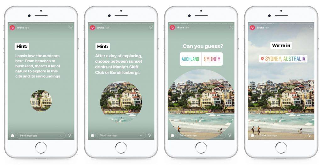 Airbnb Instagram Stories