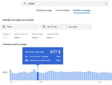 Sejour de 4 nuits a Venise avec Google