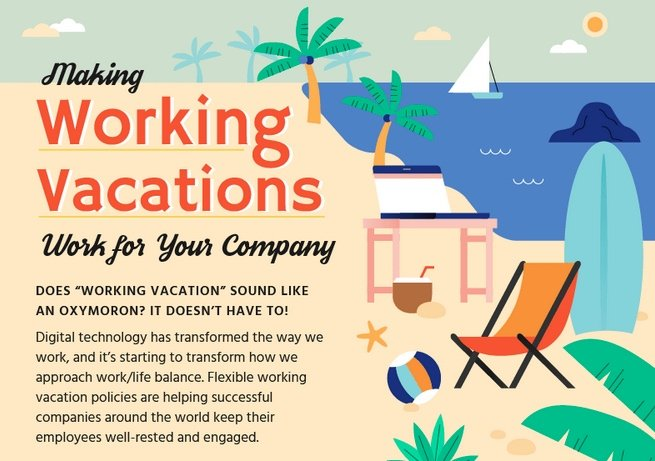 Is Working Vacation an Oxymoron