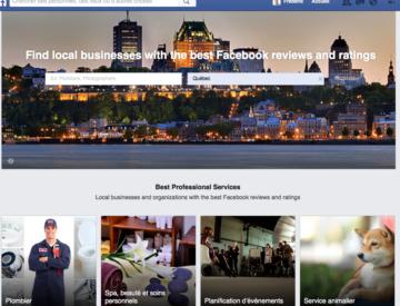 Facebook Services Locaux