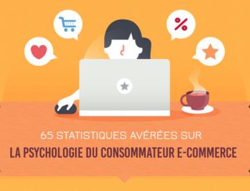 Infographie: 65 statistiques sur la psychologie du consommateur ecommerce