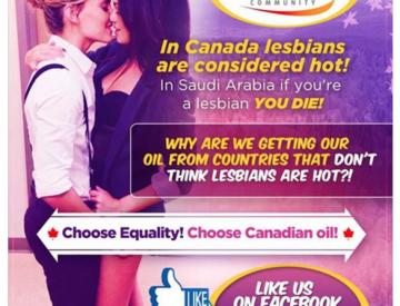 Publication controversée de Canada Oil Sands sur Facebook, le 24 juillet 2016