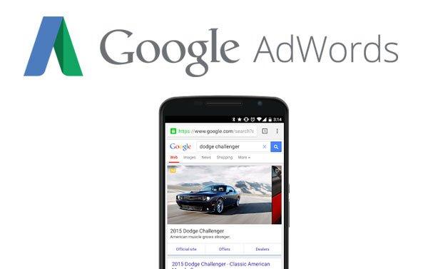 Publicité mobile Google AdWords