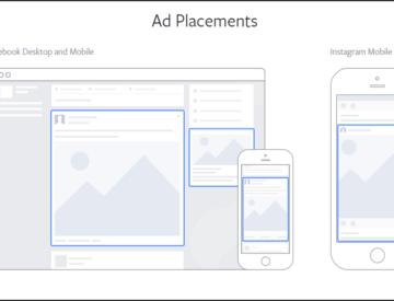Possibilités de placement publicitaire avec Facebook