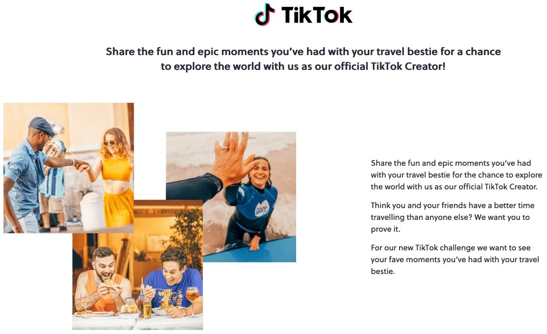 TikTok Challenge with Contiki