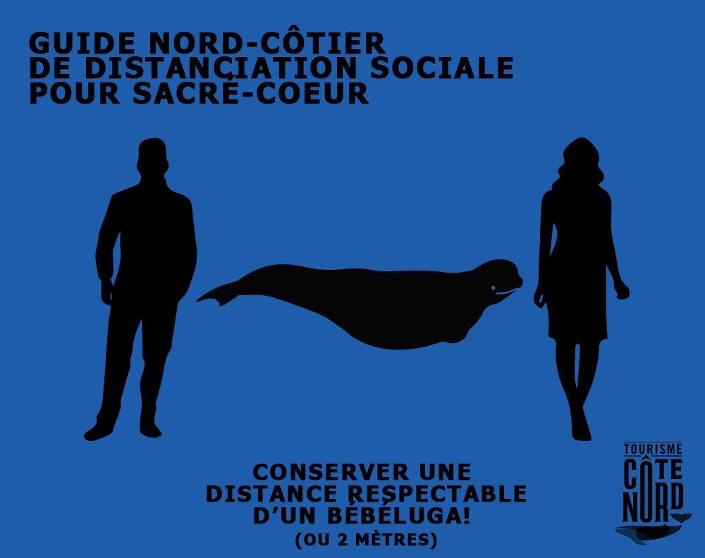 Exemple de publication sur les médias sociaux par Tourisme Côte Nord