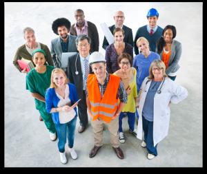 Groupe de travailleurs
